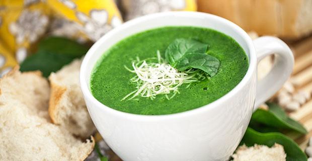 Vevety Spinach Blender Soup