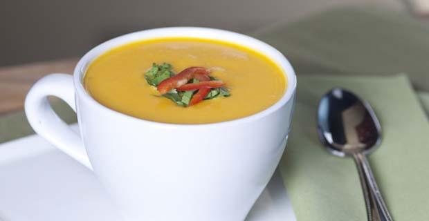 Butternut Squash Blender Soup